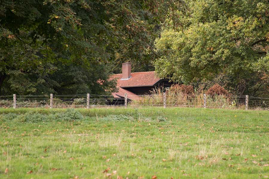 Noors-huisje op landgoed Heuven