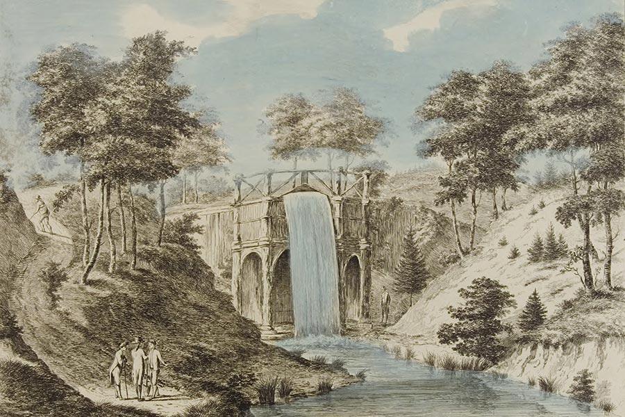 de grote cascade 1768-1800