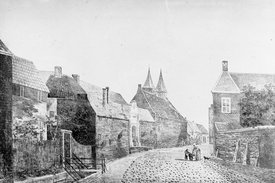 Sint Catharinae Gasthuis uit Arnhem 1850