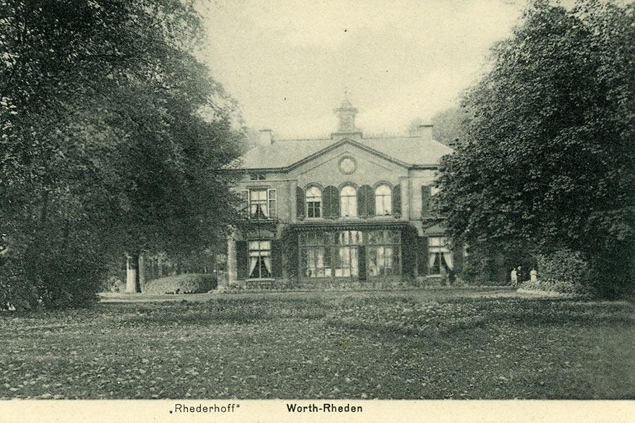 rhederhof 1918