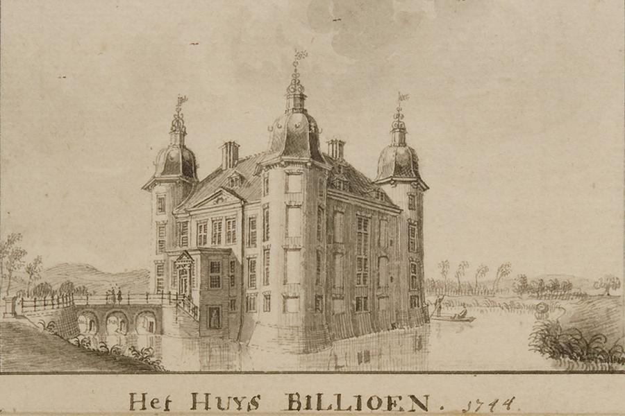 Kasteel Biljoen 1744