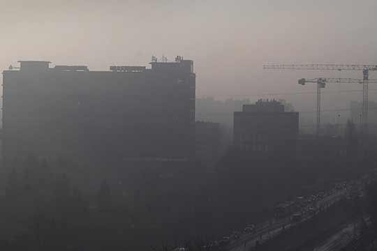Leven in de smog tast onze gezondheid aan.